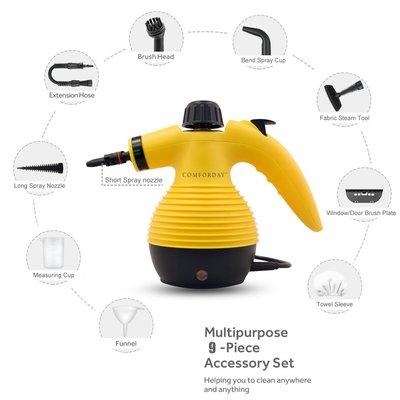 Comforday Multi-Purpose Handheld Pressurized Steam Cleaner