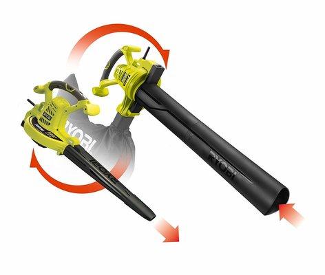 Ryobi 3000W Electric Blower Vacuum- Conversion Style