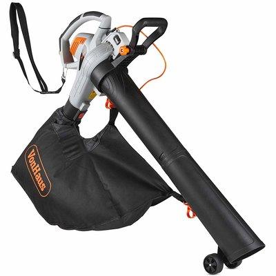 VonHaus 3 in 1 Leaf Blower - 3000W Garden Vacuum