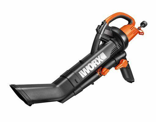 WORX WG505E 3000W Trivac Garden Blower Mulcher & Vacuum