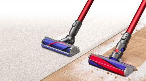Dyson v8 On carpets and hard floors