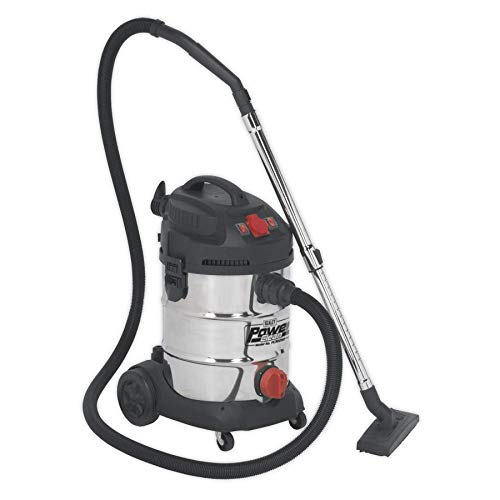 Sealey PC300SDAUTO 30ltr Wet & Dry Industrial Vacuum Cleaner