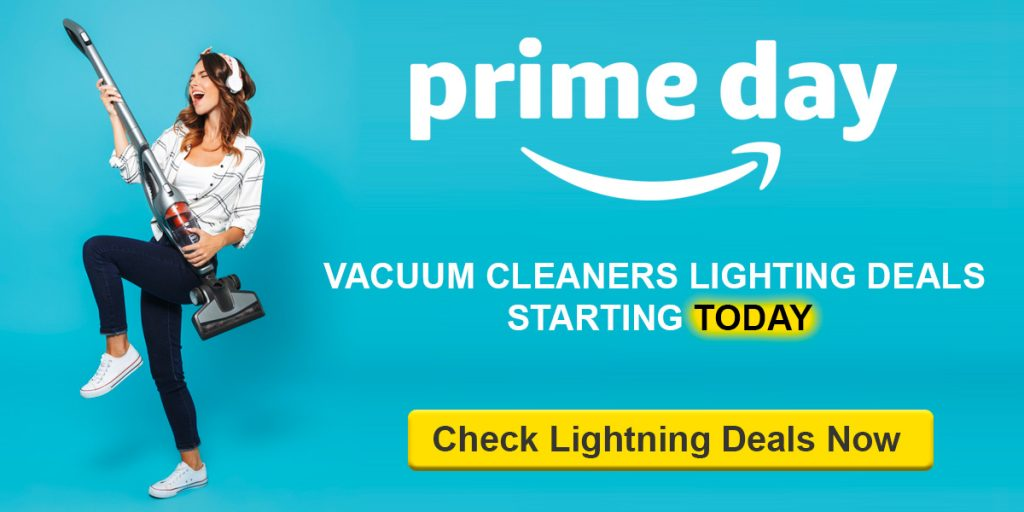 vacuum cleaner lighting deals Prime Day