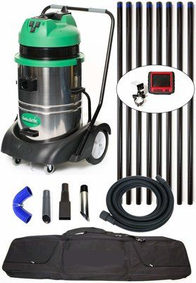 Gutter Cleaning Vacuum System