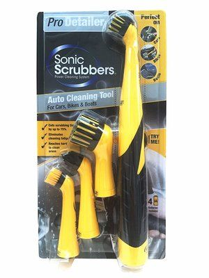 SonicScrubber Pro Detailer Cleaning Brush