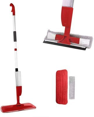 KCT 2 in 1 Red Spray Mop