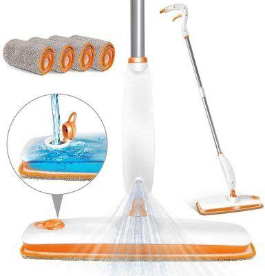 MASTERTOP Spray Floor Flat Mop Cleaner