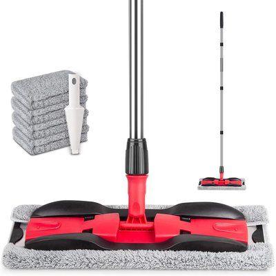 PAPCLEAN Microfibre Flat Floor Mop