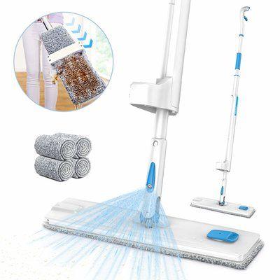 Spray Mop, JASHEN Self Wringing Microfiber Mop