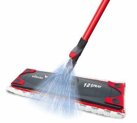 Vileda 1-2 Spray Microfibre Flat Spray Mop