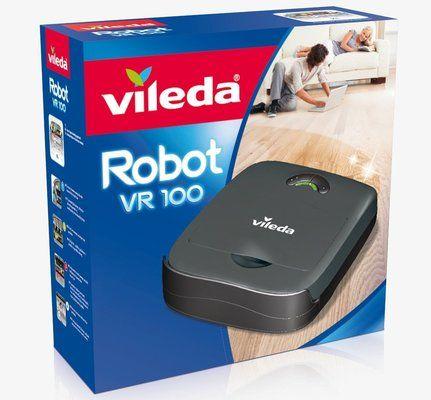 Vileda Robot vacuum cleaner VR 100 Robot black
