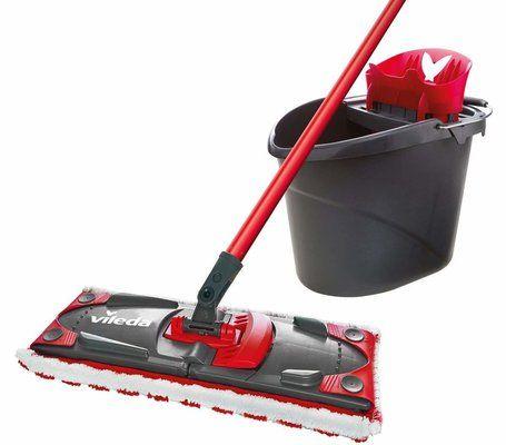 Vileda UltraMax Flat Mop and Bucket Set