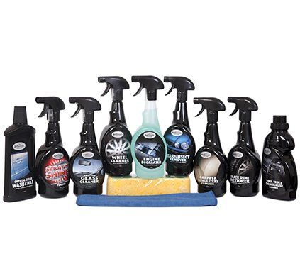 Complete 11 Piece Car Cleaning Valeting Kit