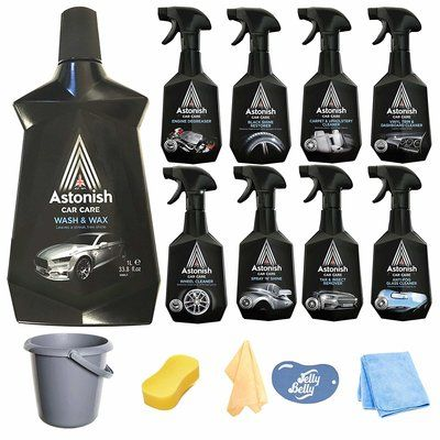 The Complete Car Cleaning Kit