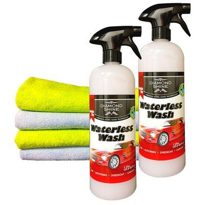 Waterless Wash and Wax Cleaner