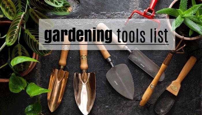 Essential Outdoor Garden Tools