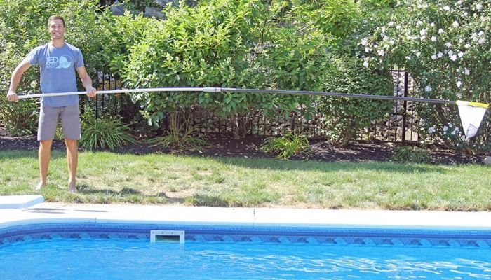 telescopic pole pool