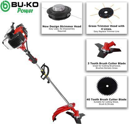BU-KO 52cc Long Reach Petrol Multi Functional Garden Tool