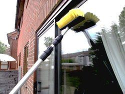 Extension Pole for Cleaning Windows